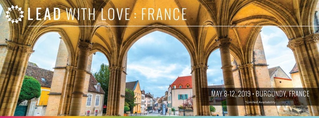 Get out of town this Spring! Yogarupa teaches at Lead With Love France: 10% off coupon code available for ParaYogis