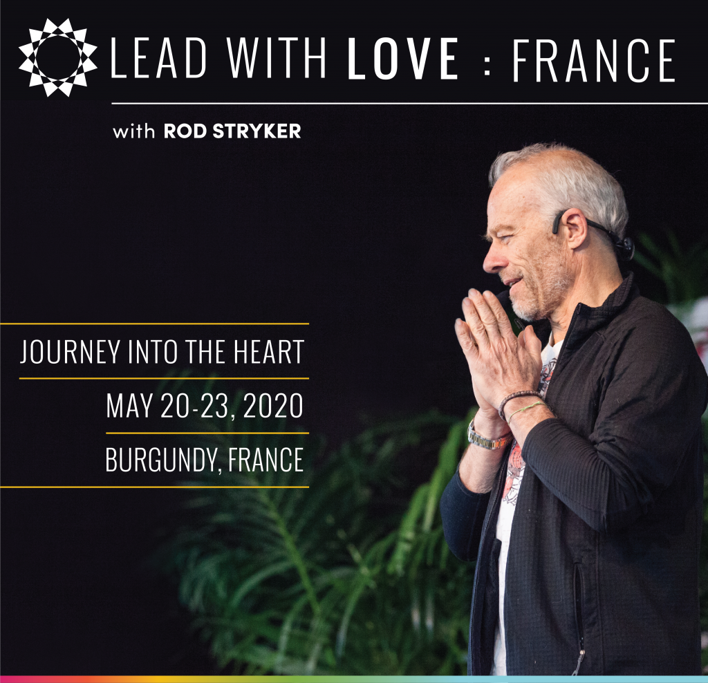 May 20-23 Lead With Love France: Sliding Scale Payment Available