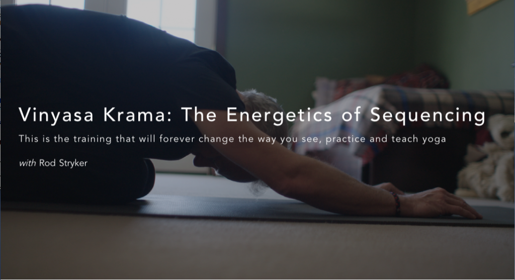 Vinyasa Krama: Now a State-of-the-Art Online Training