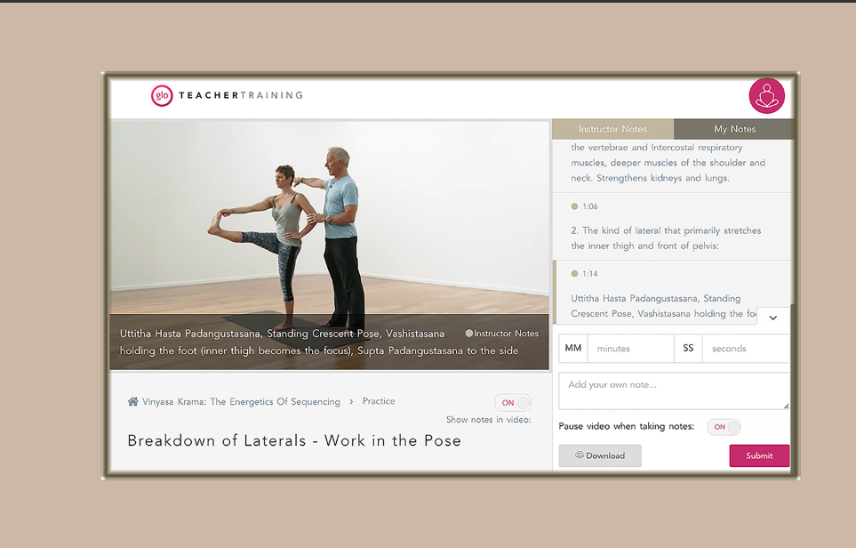 The ParaYoga Master Training Online Curriculum Now On YogaGlo - ParaYoga